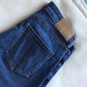 Calvin Klein Capri skinny jeans